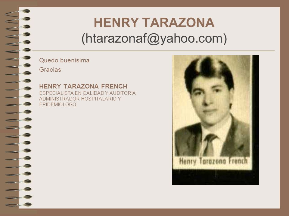 HENRY TARAZONA (htarazonaf@yahoo.com)