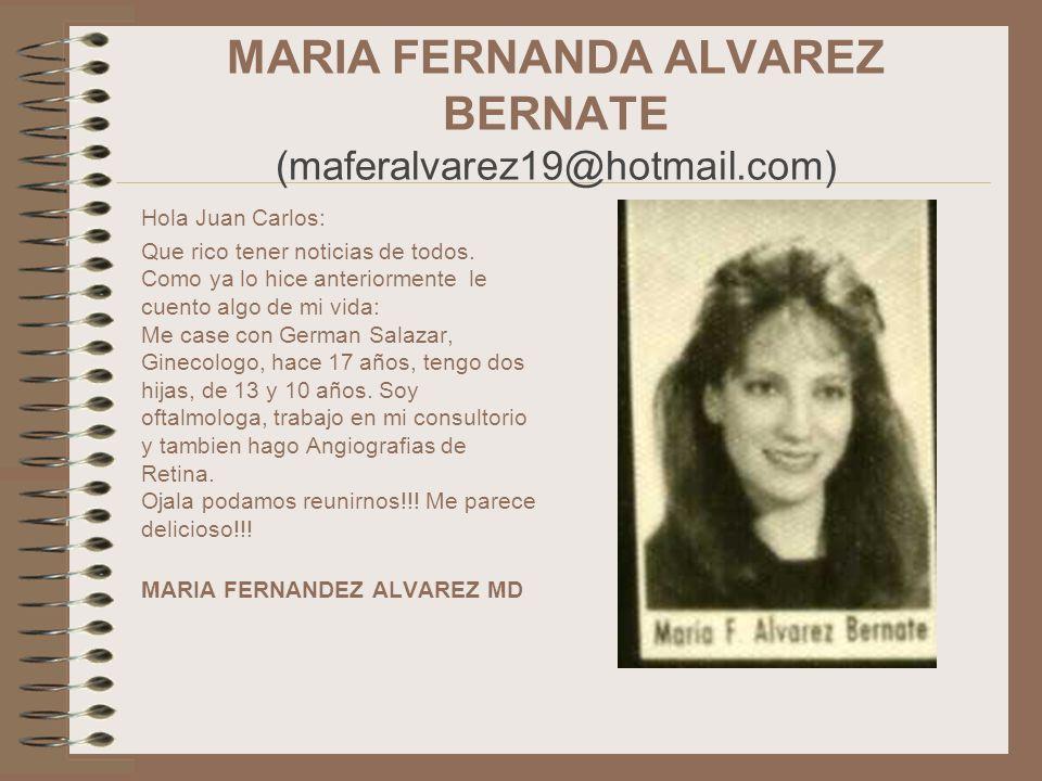 MARIA FERNANDA ALVAREZ BERNATE (maferalvarez19@hotmail.com)