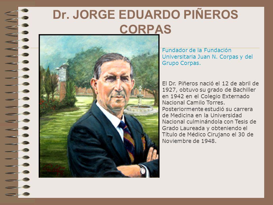 Dr. JORGE EDUARDO PIÑEROS CORPAS