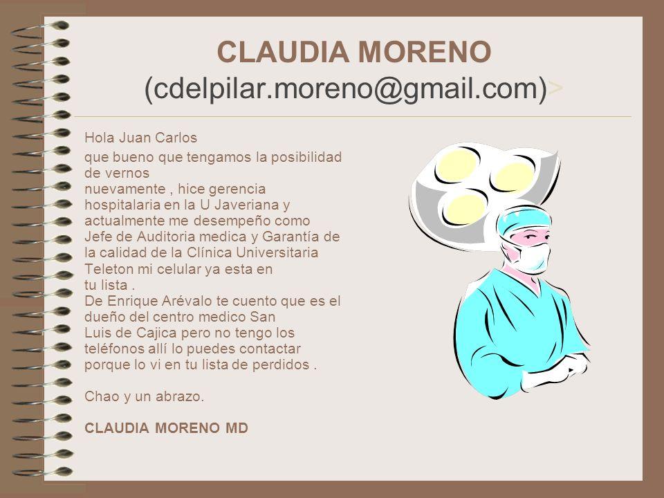 CLAUDIA MORENO (cdelpilar.moreno@gmail.com)>