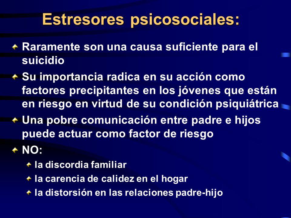 Estresores psicosociales: