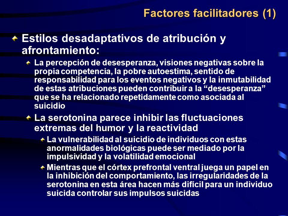 Factores facilitadores (1)