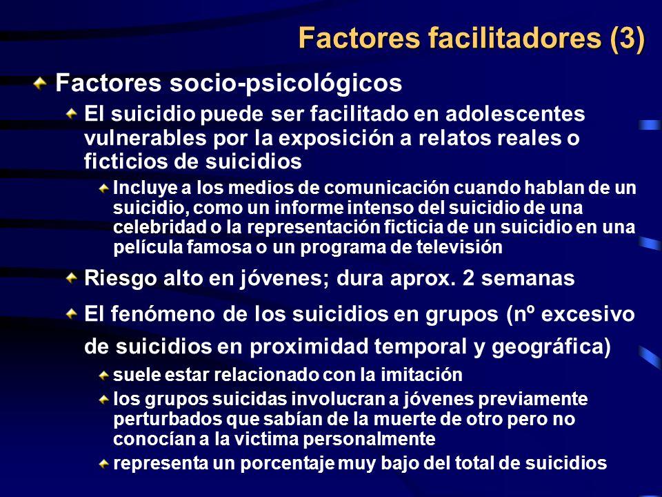 Factores facilitadores (3)