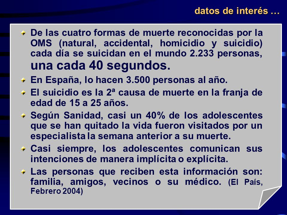 datos de interés …