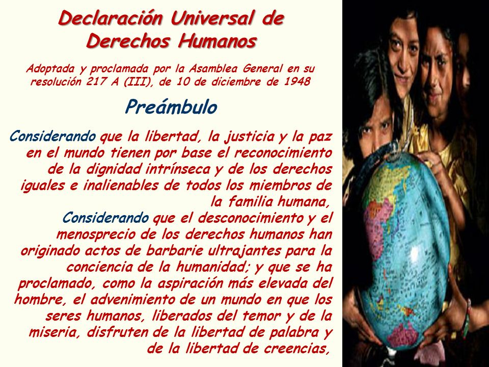 Declaración Universal de