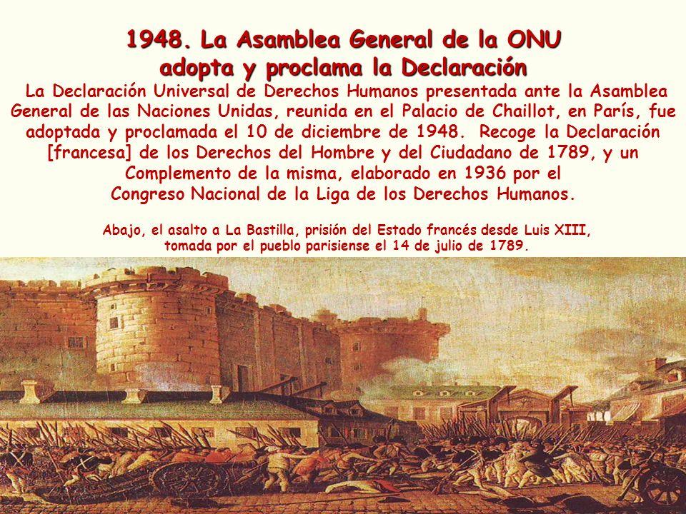 1948. La Asamblea General de la ONU