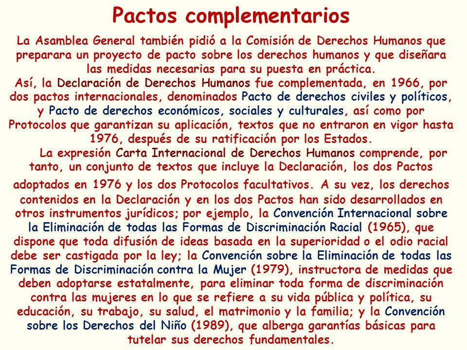 Pactos complementarios