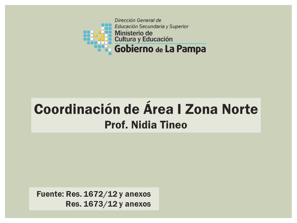 Coordinación de Área I Zona Norte