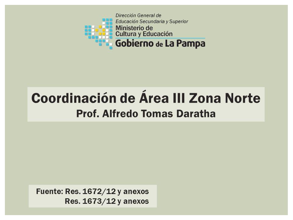 Coordinación de Área III Zona Norte