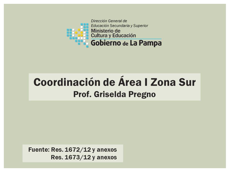 Coordinación de Área I Zona Sur