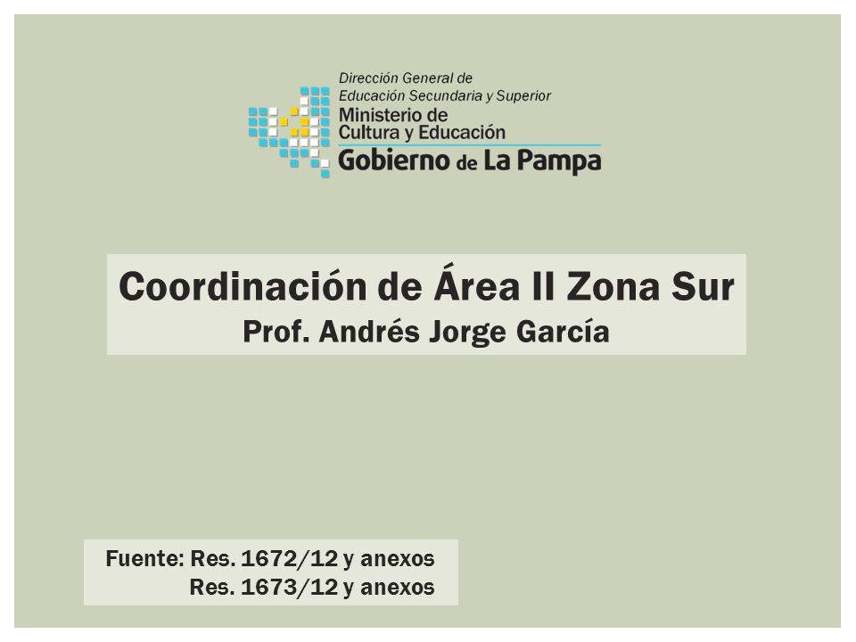 Coordinación de Área II Zona Sur