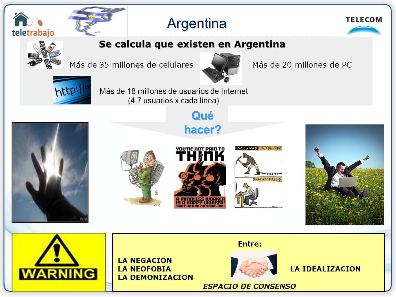 Se calcula que existen en Argentina