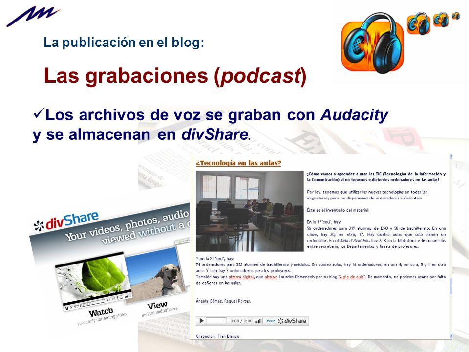 Las grabaciones (podcast)