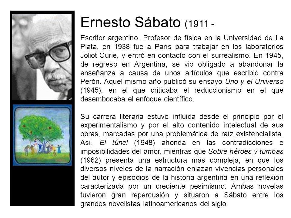 Ernesto Sábato (1911 -