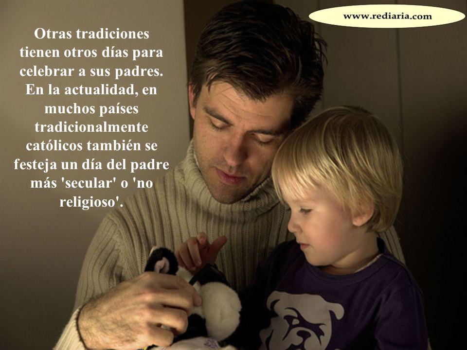 Otras tradiciones tienen otros días para celebrar a sus padres