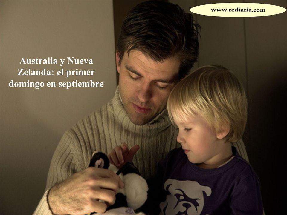 Australia y Nueva Zelanda: el primer domingo en septiembre