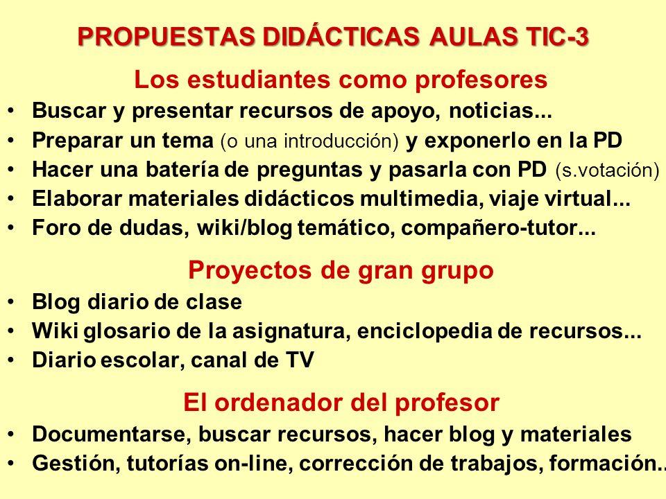 PROPUESTAS DIDÁCTICAS AULAS TIC-3