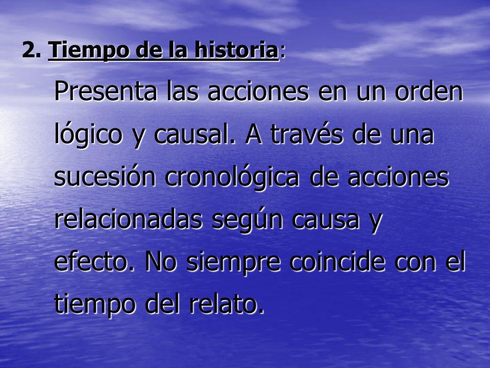 2. Tiempo de la historia: