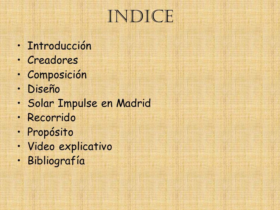 INDICE Introducción Creadores Composición Diseño