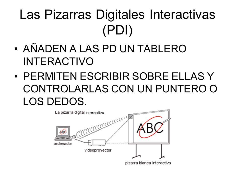 Las Pizarras Digitales Interactivas (PDI)