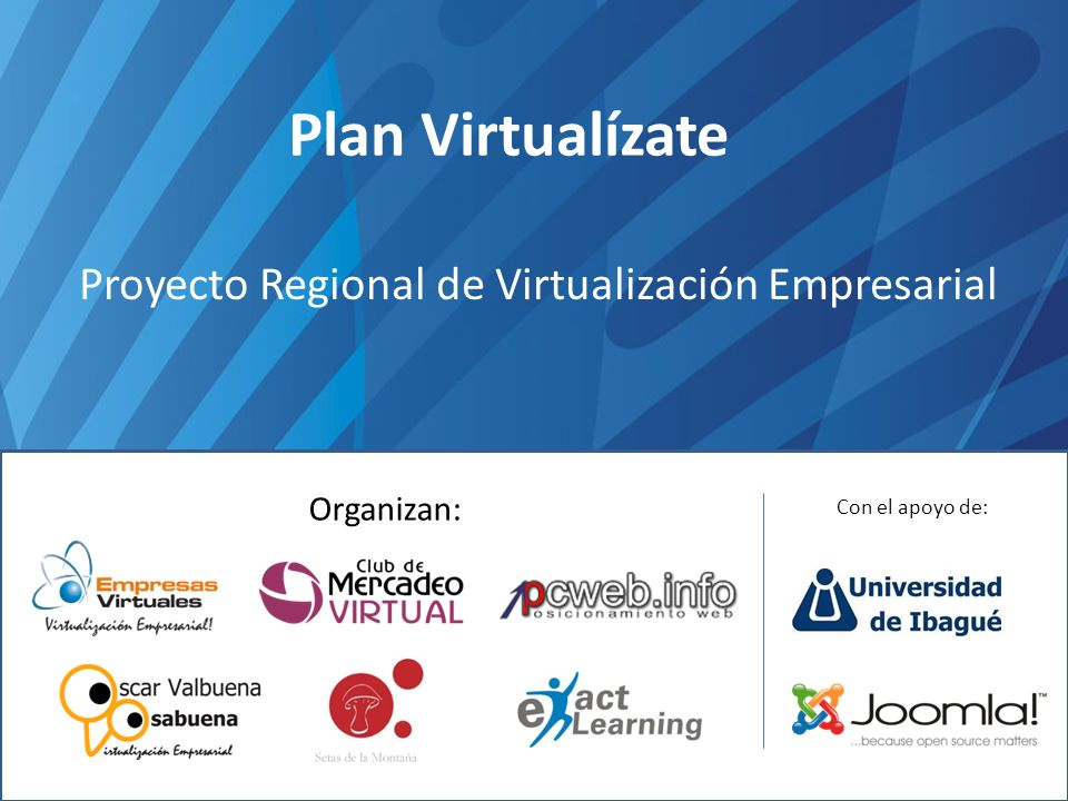 Proyecto Regional de Virtualización Empresarial