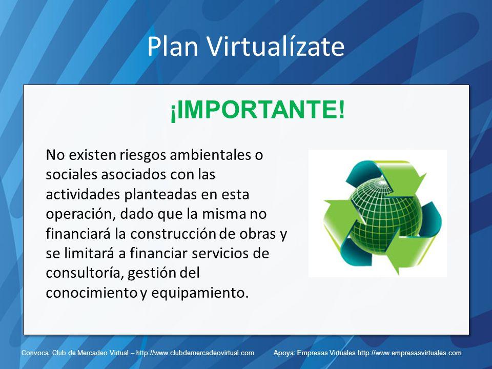 Plan Virtualízate ¡IMPORTANTE!