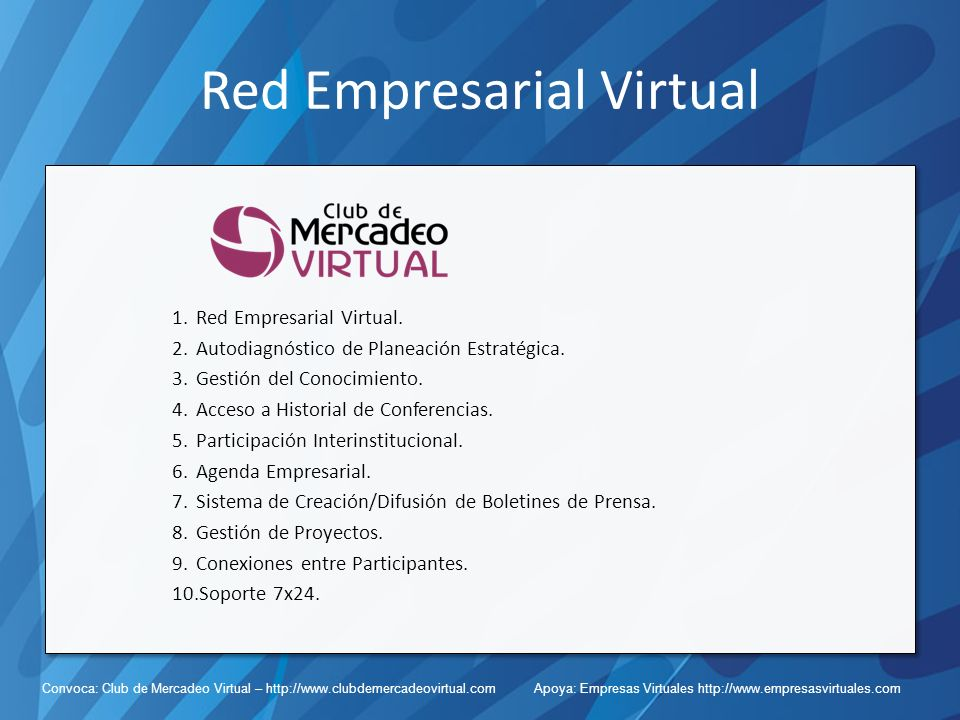Red Empresarial Virtual
