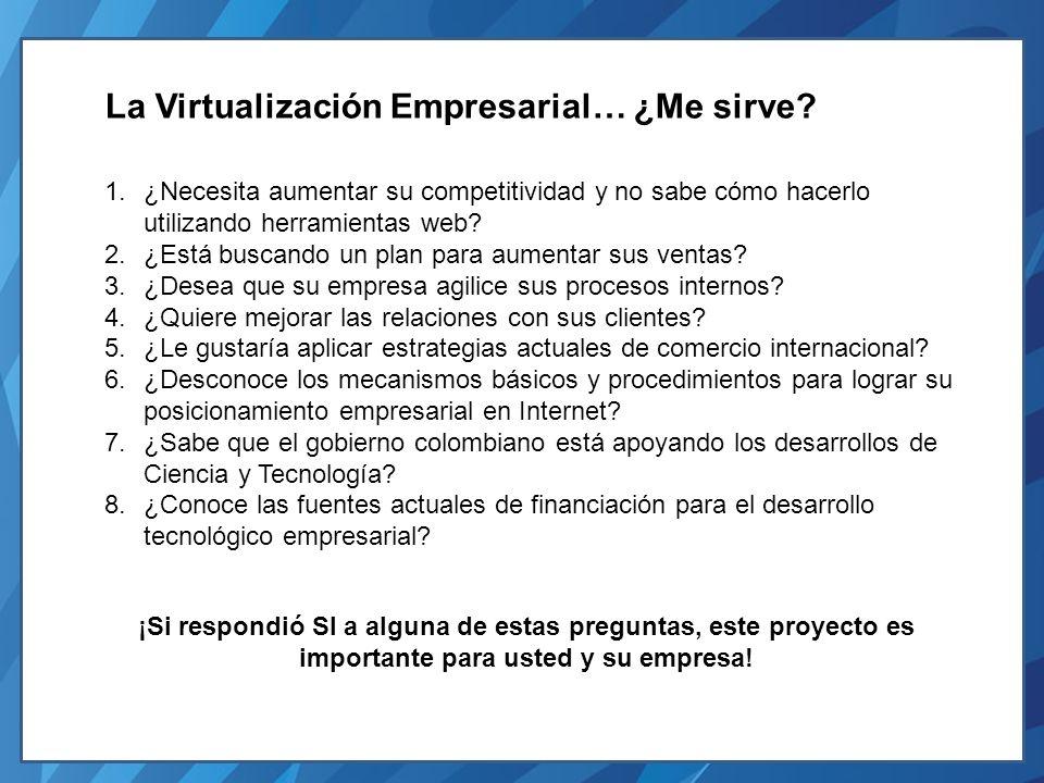 La Virtualización Empresarial… ¿Me sirve