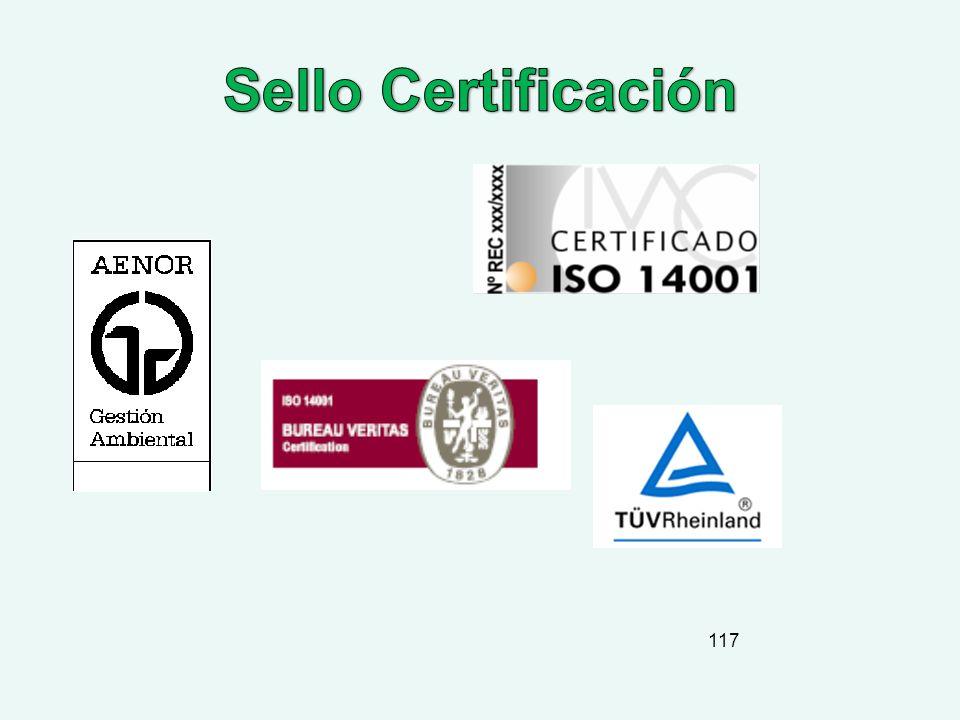 Sello Certificación