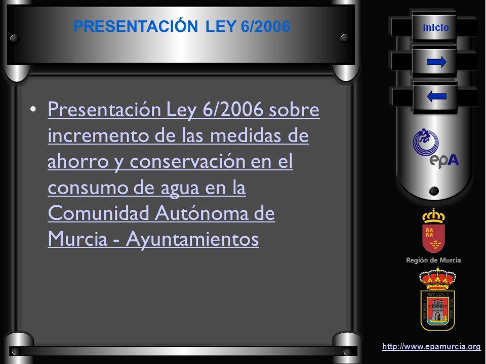 PRESENTACIÓN LEY 6/2006