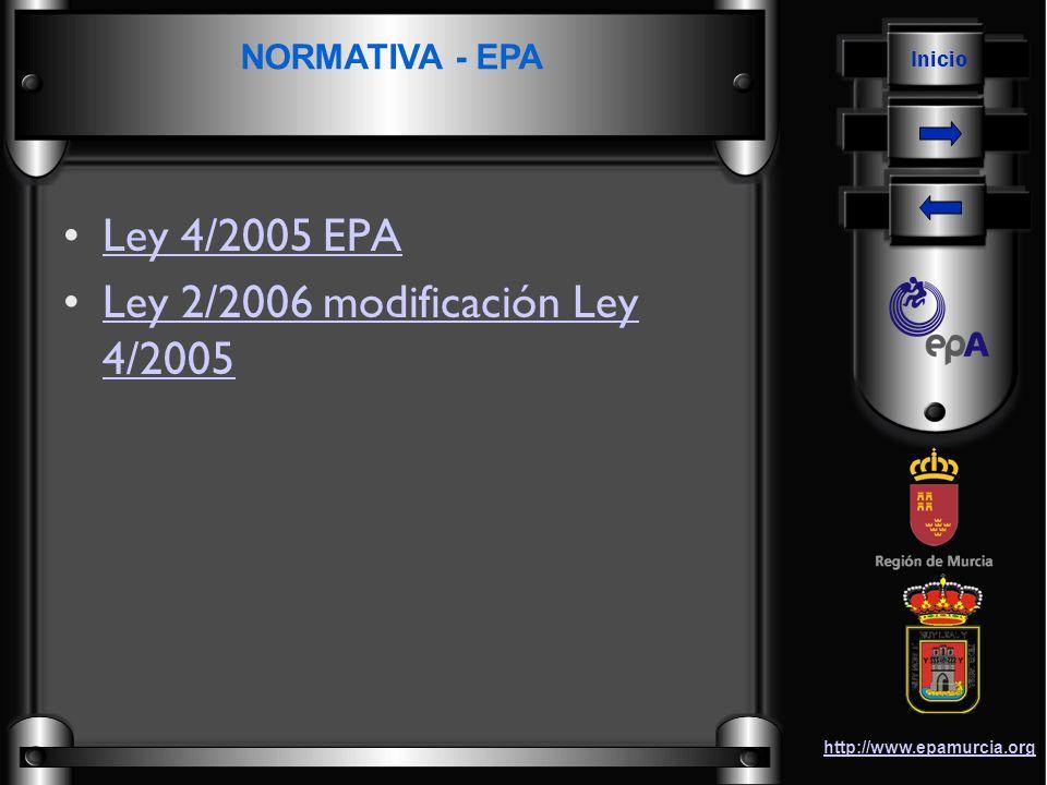 Ley 2/2006 modificación Ley 4/2005