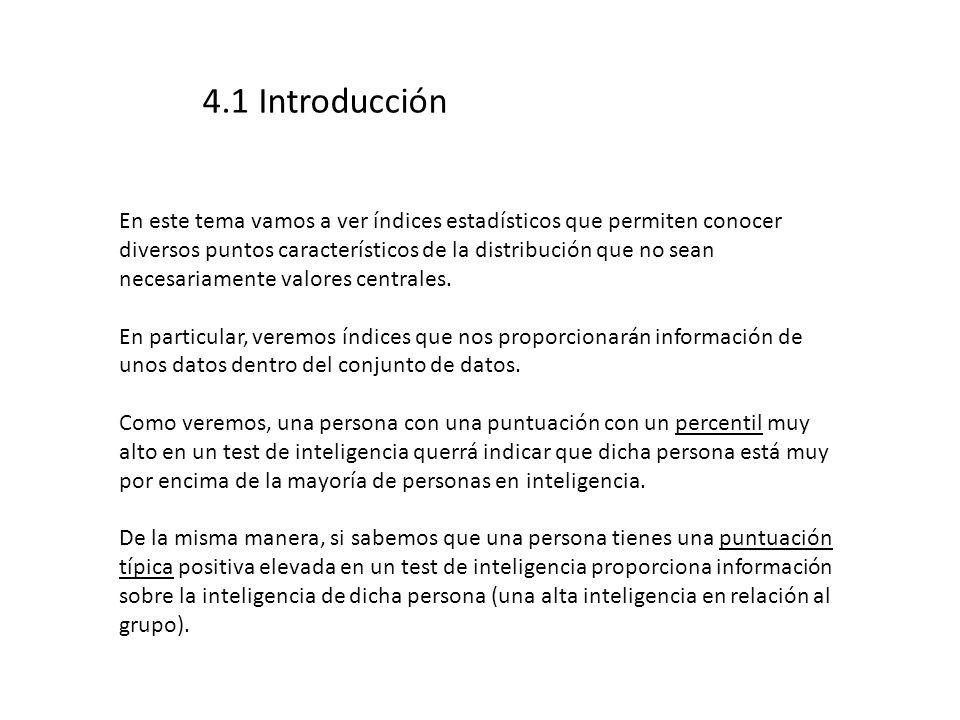 4.1 Introducción