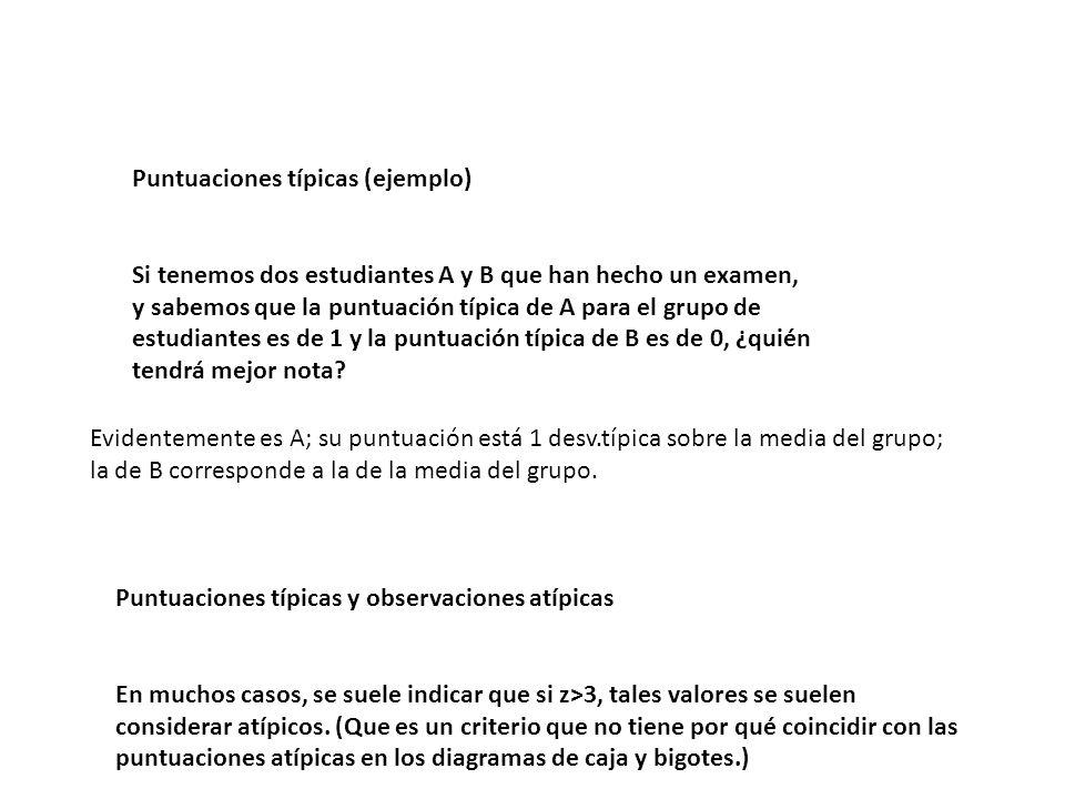 Puntuaciones típicas (ejemplo)