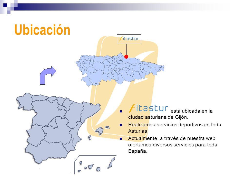 Ubicación está ubicada en la ciudad asturiana de Gijón.