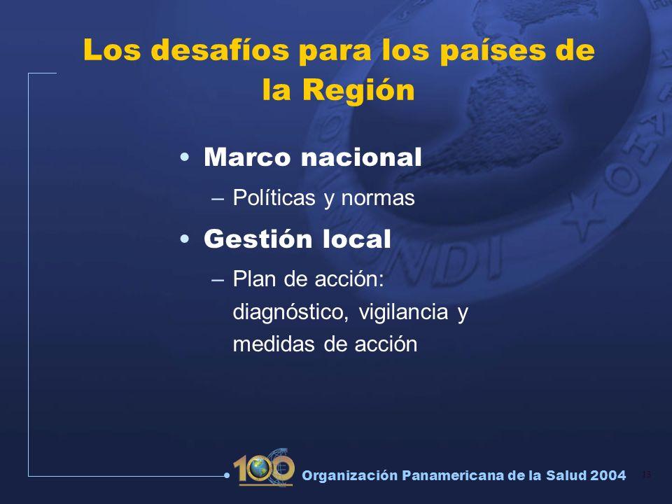 Los desafíos para los países de la Región