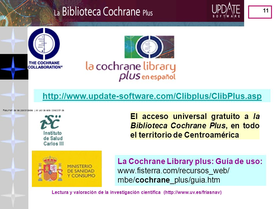 http://www.update-software.com/Clibplus/ClibPlus.asp Resumen de las posibilidades y el uso de este colección de.