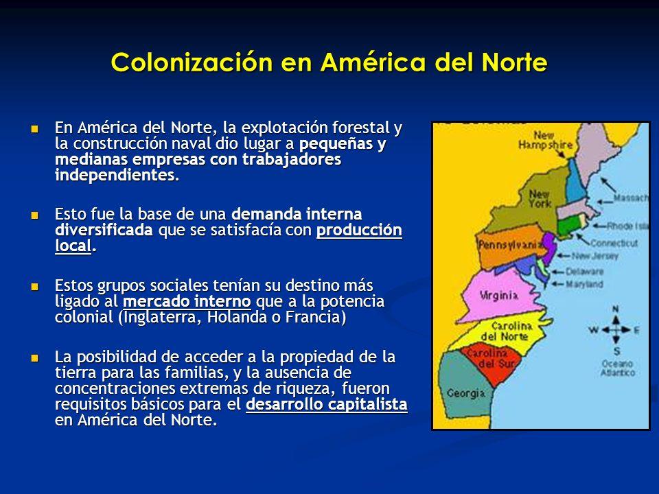 Colonización en América del Norte