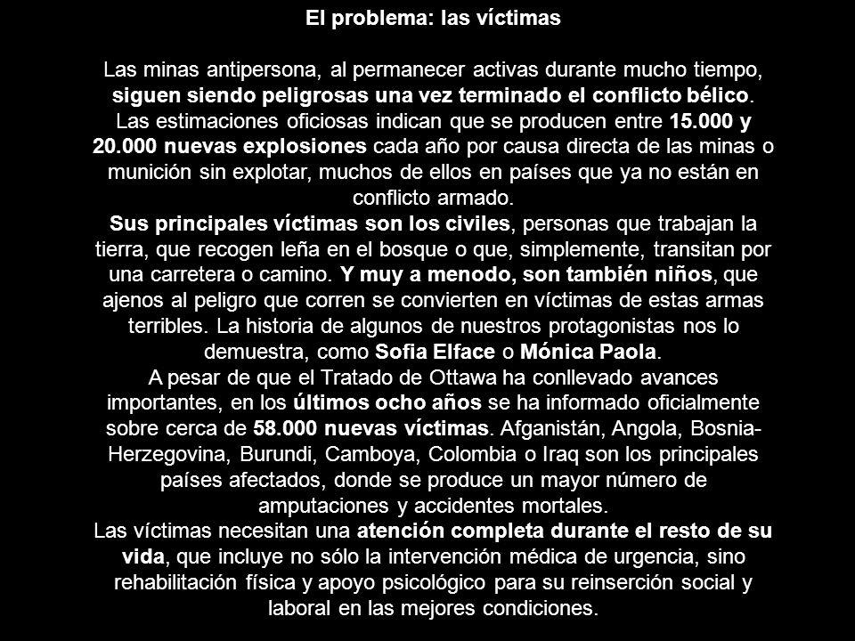 El problema: las víctimas