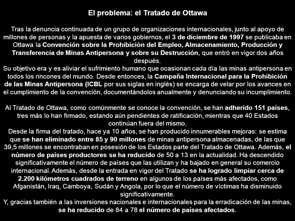 El problema: el Tratado de Ottawa