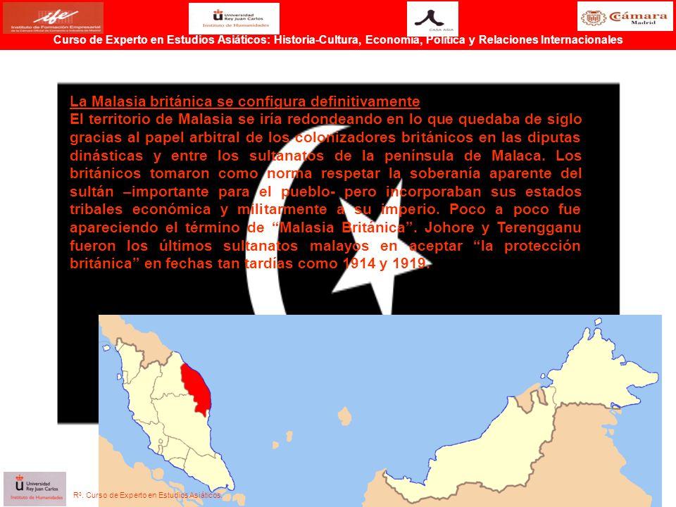 La Malasia británica se configura definitivamente