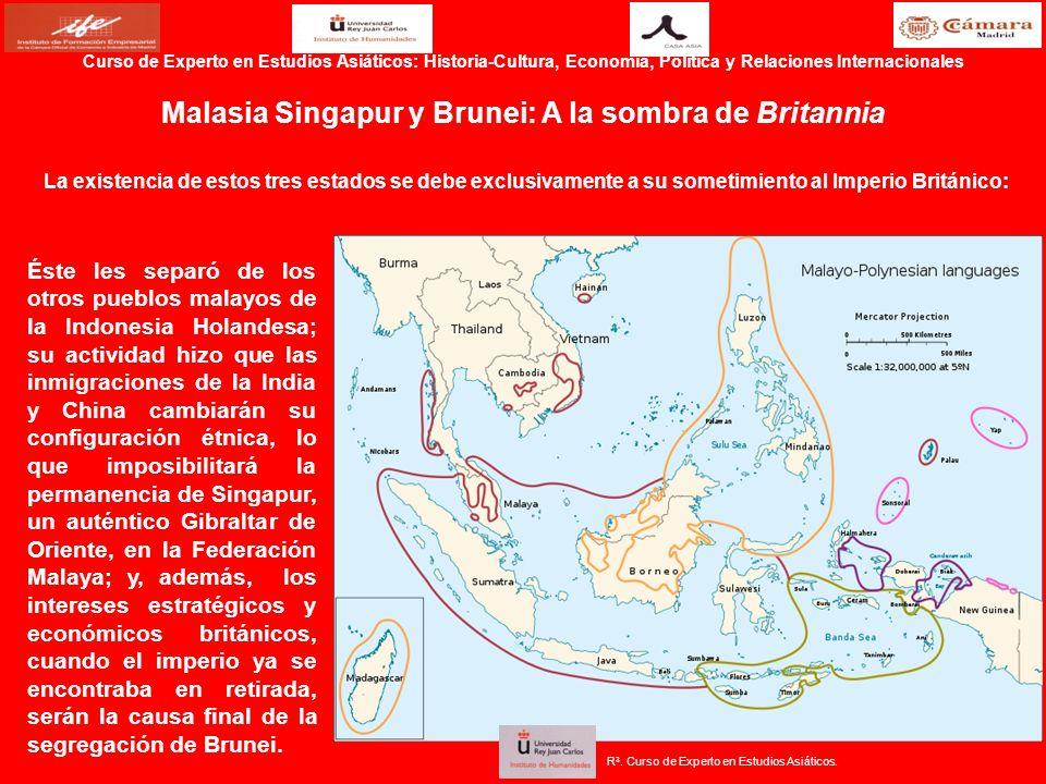 Malasia Singapur y Brunei: A la sombra de Britannia