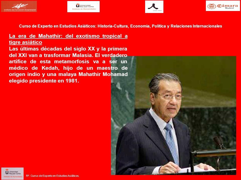La era de Mahathir: del exotismo tropical a tigre asiático