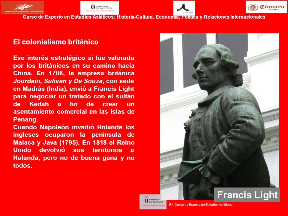 Francis Light El colonialismo británico