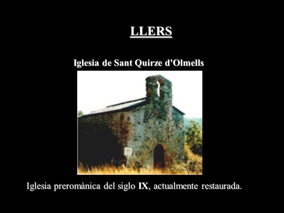 Iglesia de Sant Quirze d Olmells