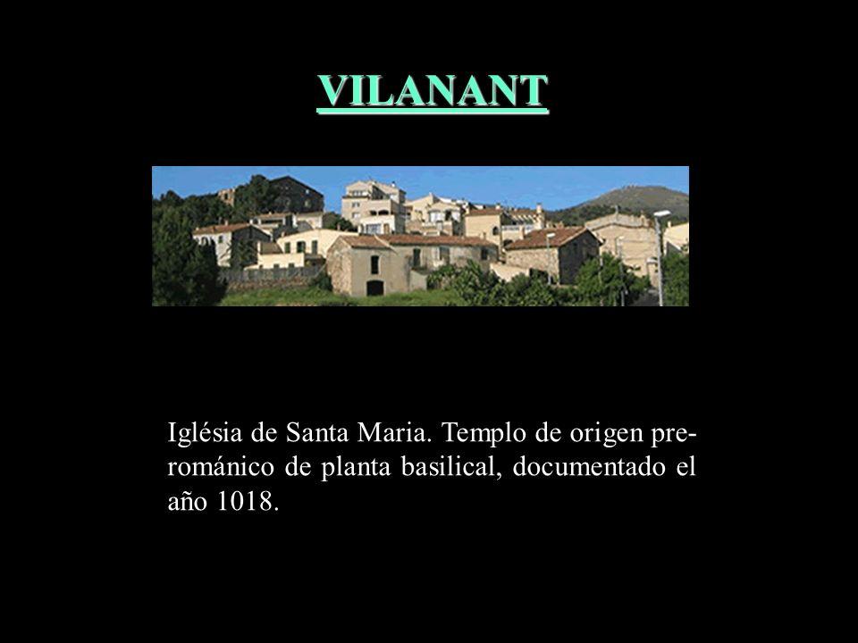 VILANANT Iglésia de Santa Maria.