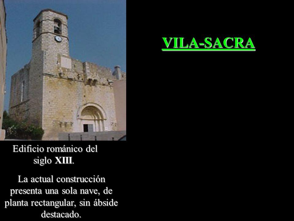Edificio románico del siglo XIII.
