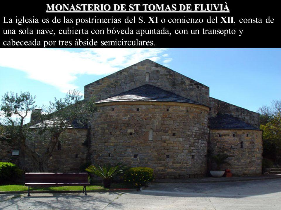 MONASTERIO DE ST TOMAS DE FLUVIÀ