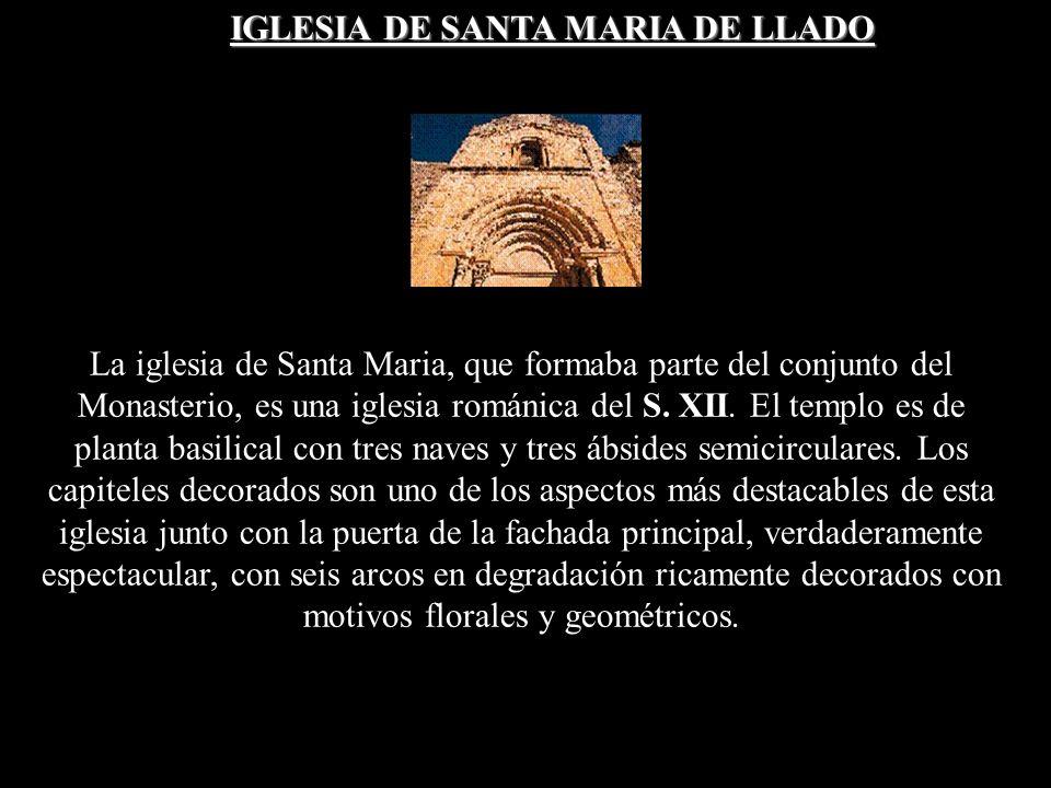 IGLESIA DE SANTA MARIA DE LLADO