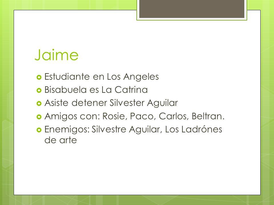 Jaime Estudiante en Los Angeles Bisabuela es La Catrina
