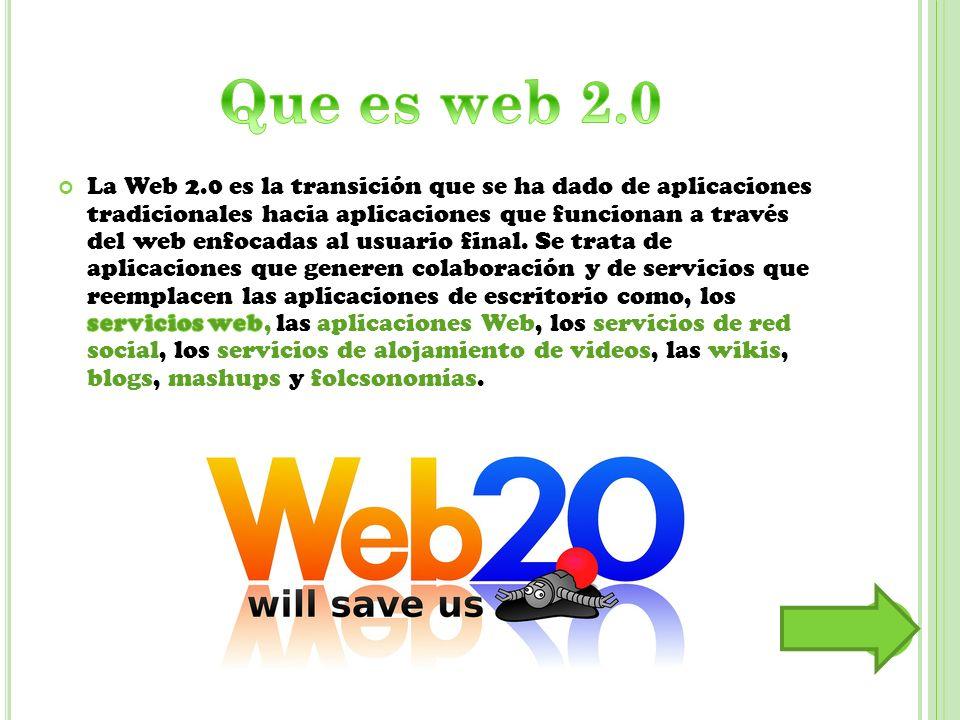 Que es web 2.0